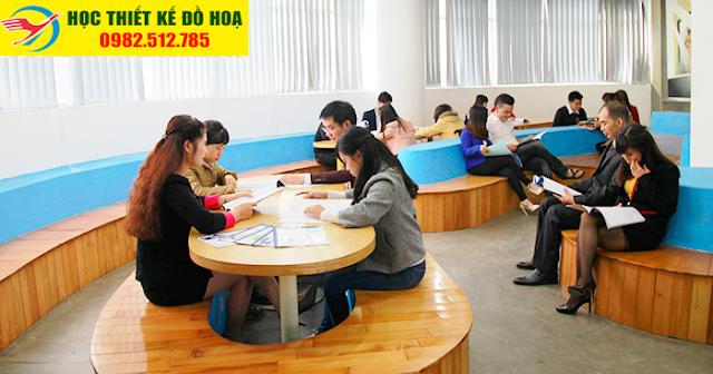 lớp học indesign tại Hoàng Mai