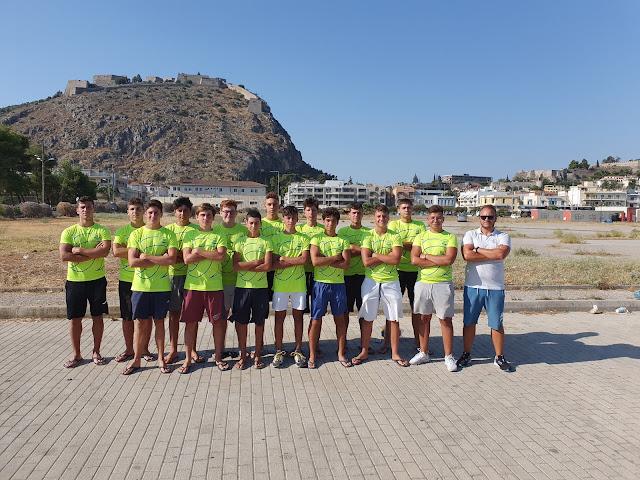 Στη μάχη του πρωταθλήματος η ομάδα των Εφήβων του Ναυτικού Ομίλου Ναυπλίου
