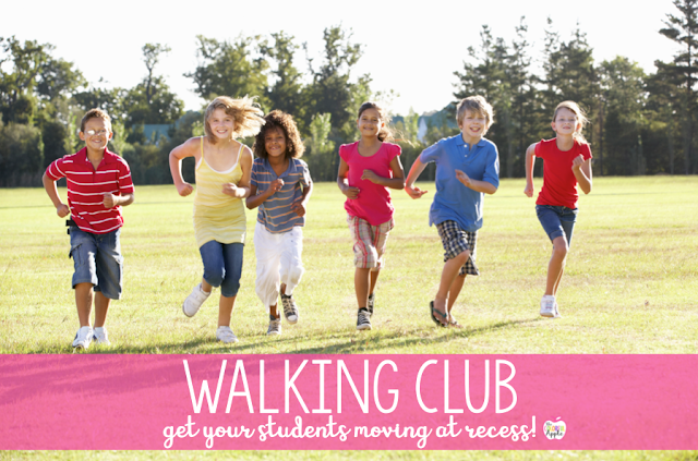 An outdoor recess activity for elementary school students to get them up and moving!