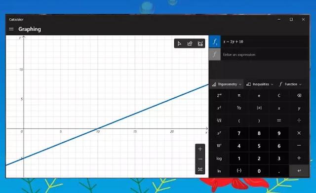Cara Menggunakan Mode Grafik di Kalkulator Windows 10-22