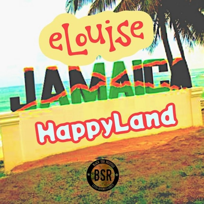 """eLouise release another 15 female reggae songs from Jamaica in an album called """"HappyLand"""""""