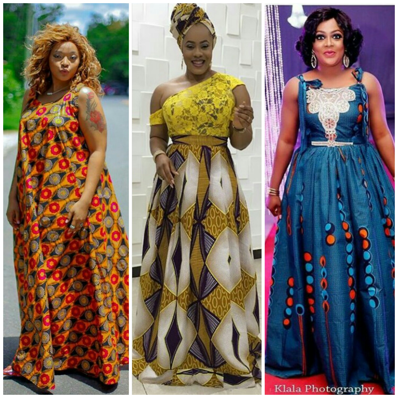 New Style Kitenge Maxi Dresses