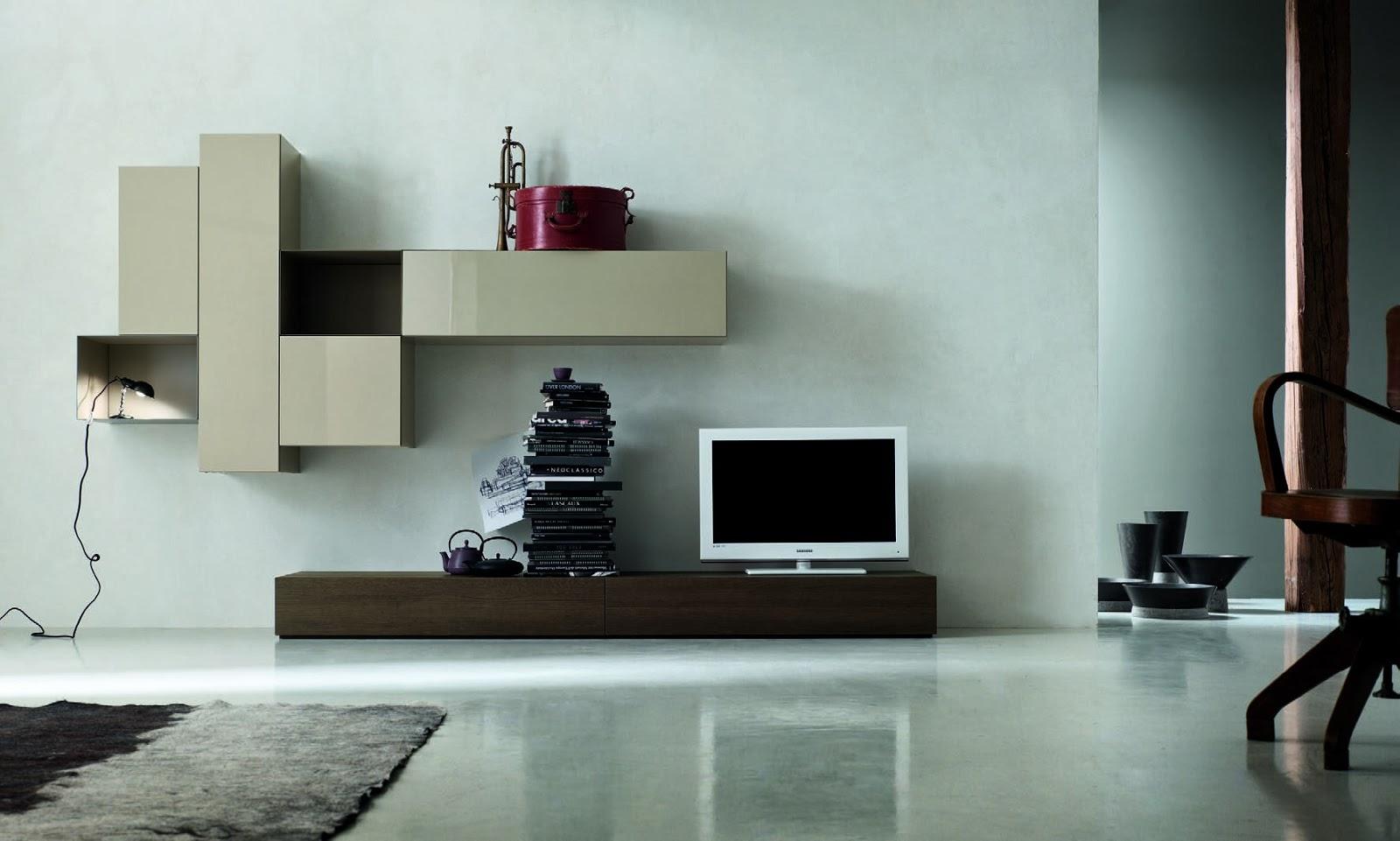 Soggiorno moderno essenza legno e laccato  Blog Outlet Arreda  arredamento e casa