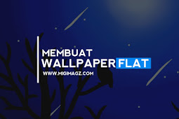Cara Membuat Wallpaper Hp Flat Design di Sketchbook