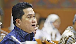 Titah Erick Thohir Sudah Ketok Palu, Komisaris & Dewas BUMN Halal Rangkap Jabatan
