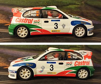 Toyota Corolla WRC Scalextric Costa Brava 1999