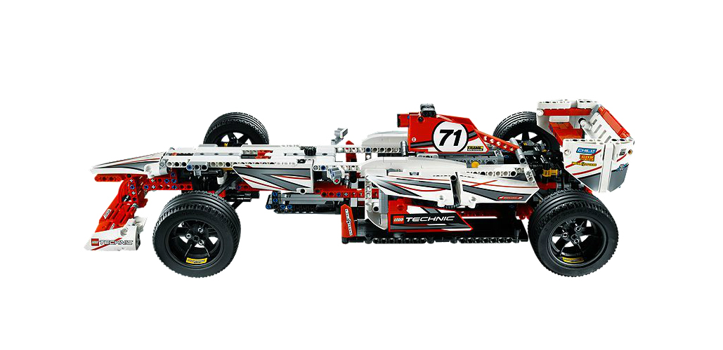 my lego style lego technic gran prix racer 42000. Black Bedroom Furniture Sets. Home Design Ideas