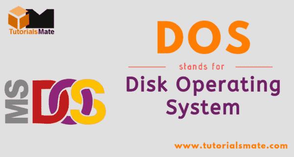 DOS Full Form
