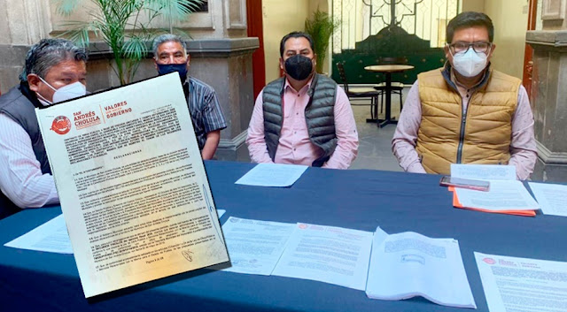 Exigen transparencia y una auditoría a la alcaldesa sanandreseña Karina Pérez Popoca