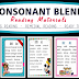 CONSONANT BLENDS (Useful and Effective) Beginning and Remedial Reading