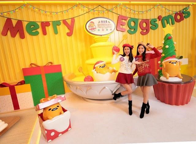 【梳乎盛宴】銅鑼灣皇室堡「GUDETAMA Merry Eggs'mas」 陪你過聖誕