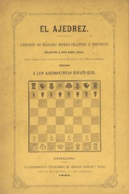 Cubierta del libro El Ajedrez de la edición encuadernada en rústica
