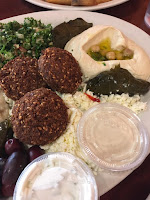 filfillah middle eastern restaurant mazza platter