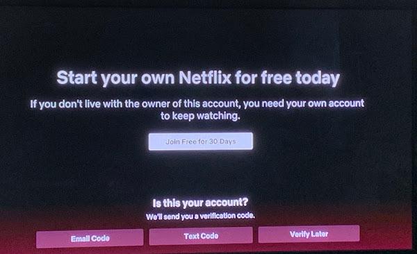 "Netflix pode atacar os logins ""emprestados"""