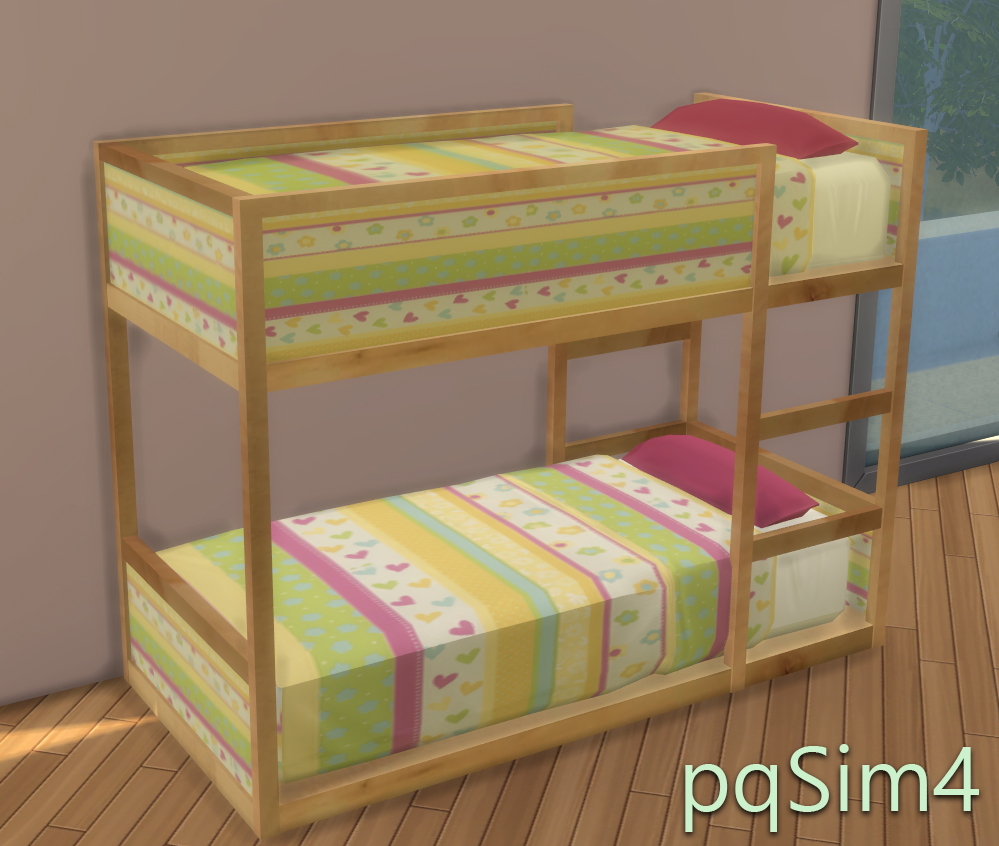 Sims 4 Cc S The Best Ikea Toddler Bed By Pqsim4