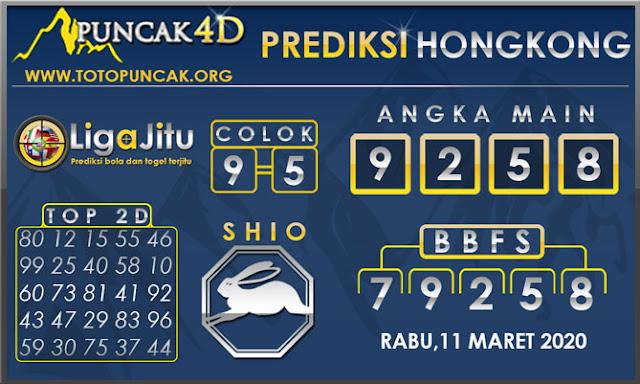PREDIKSI TOGEL HONGKONG PUNCAK4D 11 MARET 2020