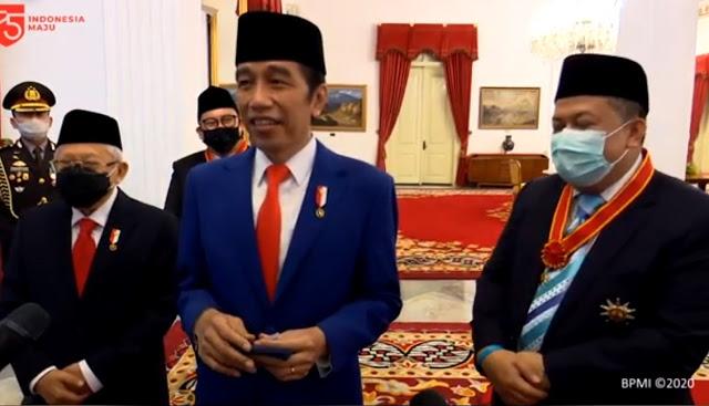 Beri Penghargaan ke 2F, Apa Pesan Politik Jokowi?