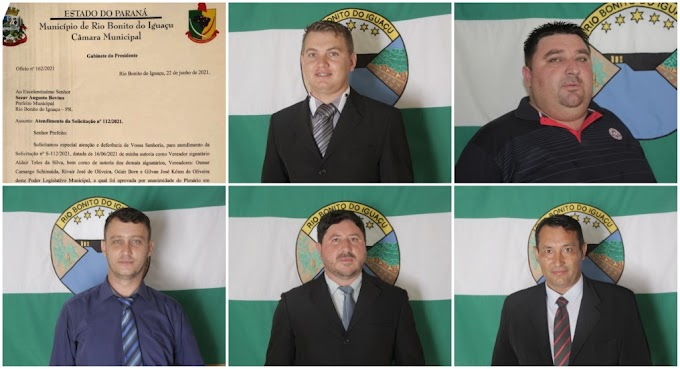 Vereadores de Rio Bonito do Iguaçu pedem ao prefeito que novos assentados sejam inclusos em programas de desenvolvimento