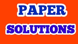 UNIT TEST PAPERS SOLUTION - BHASHADEEP - Easytechmasterji
