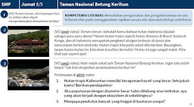 Saya Setuju Hutan tropis Kalimantan memiliki keragaman hayati yang besar.