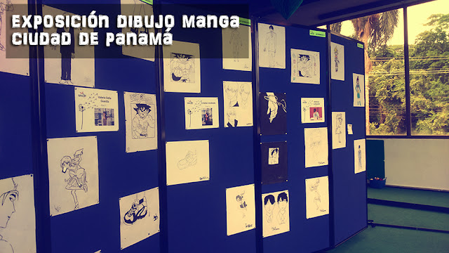 Exposición de dibujo manga