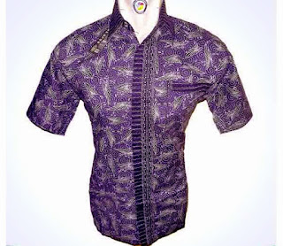 Baju batik modern termurah
