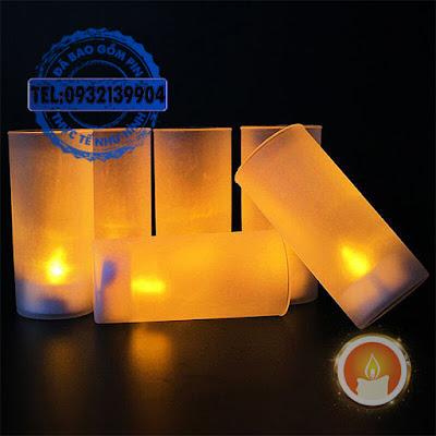 Ly đèn cầy điện tử