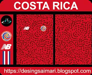 Camiseta Costa Rica 2021 (Vector free)