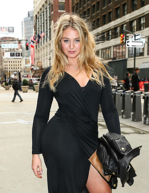 Iskra Lawrence Heads to Gotham Hall in New York