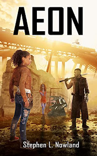 Aeon - a bold science fiction adventure book promotion sites Stephen L. Nowland