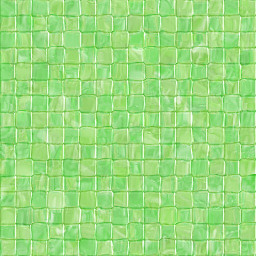 free abstract green tile pattern