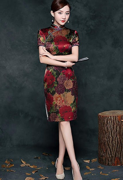Best Silk Cheongsam Qipao Traditional Chinese Dress For Women