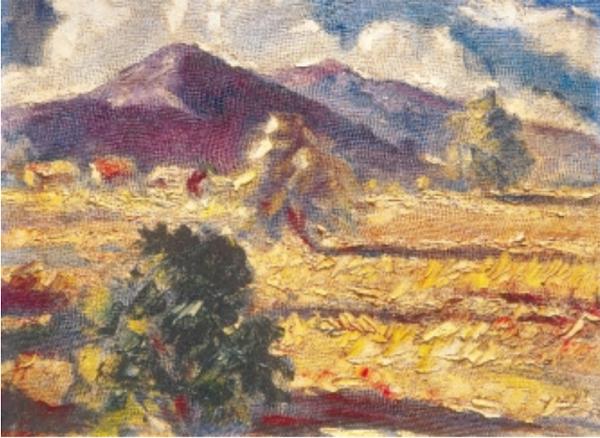 Paisaje de la Sabana, 1957
