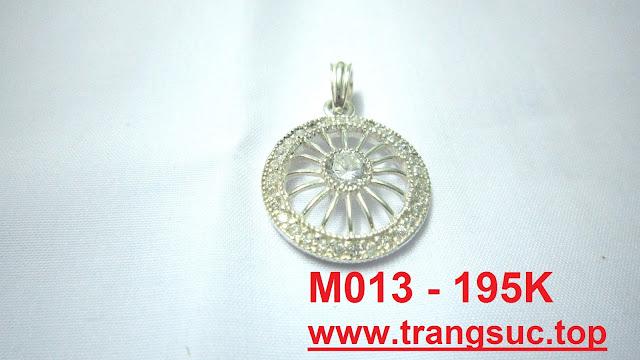 www.trangsuc.top - Mặt dây chuyền hình bánh xe - M013 - MSM013  - Giá: 195,000 VNĐ - Liên hệ mua hàng: 0906846366(Mr.Giang)