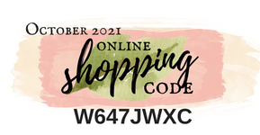 Shop Online with Me and use Shopping Code W647JWXC when checking out to receive a free gift from me! | Nature's INKspirations by Angie McKenzie