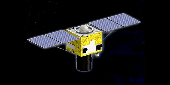 Artist's rendering of the SuperView-1 satellite. Image Credit: Beijing Space View Technology Co., Ltd.