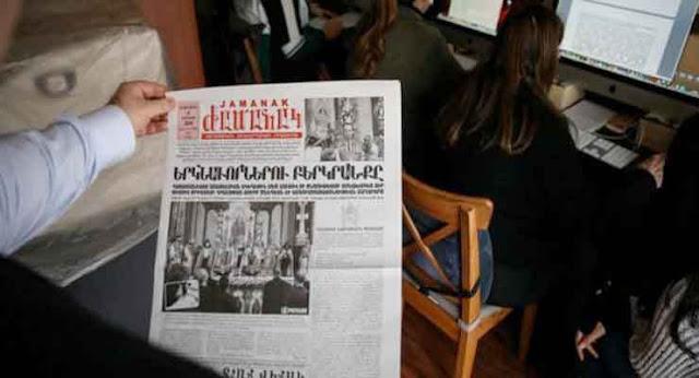 Diario armenio Jamanak en Estambul cumple 110 años