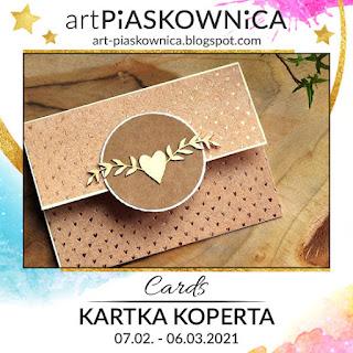 CARDS - kartka KOPERTA