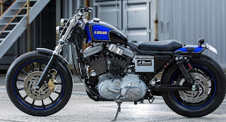 sportster 1200s custom blu