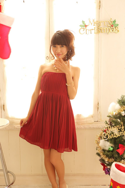 Ogino Karin 荻野可鈴 First X'mas Images 18