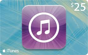 $25 iTunes GC giveaway