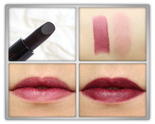 Espoir Moody Bloody lipstick Nowear S Wild Wish Review korean k beauty bloggger 에스쁘아 립스틱 노웨어 S 와일드 위시