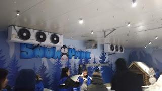 Bagian dalam Snow Park