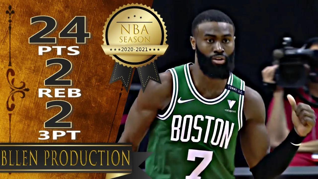 Jaylen Brown 24pts vs HOU | March 14, 2021 | 2020-21 NBA Season