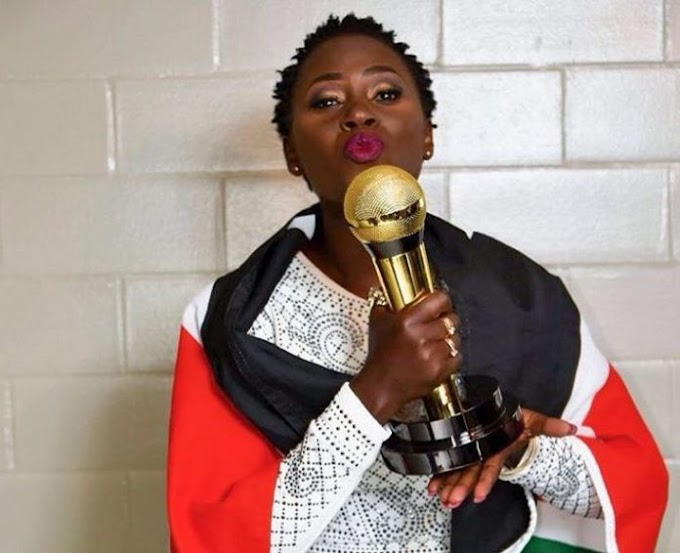 At AFRIMMA AWARD, Akothee won the best female artist in East Africa