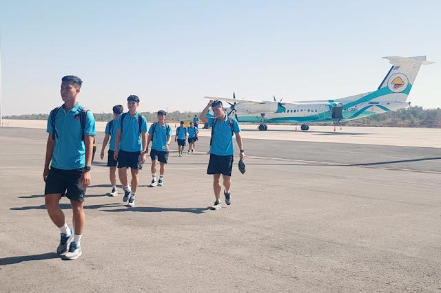 U23 Việt Nam đã có mặt ở Buriram, chuẩn bị đấu UAE 2