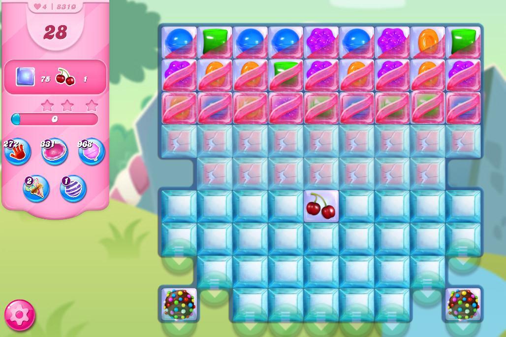 Candy Crush Saga level 8310
