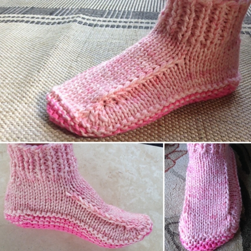 Better Dorm Boots Slippers - Free Pattern