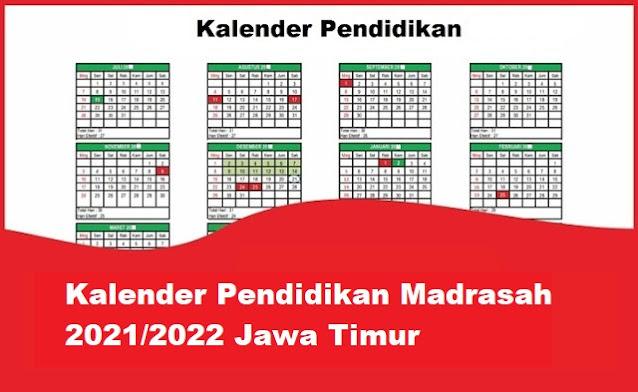 kalender pendidikan madrasah jawa timur