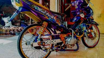 Modifikasi terkeren motor Jupiter Z